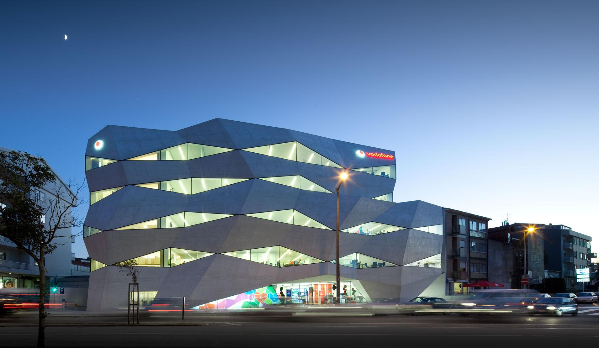 Uffici famosi: Vodafone Headquarter, Porto