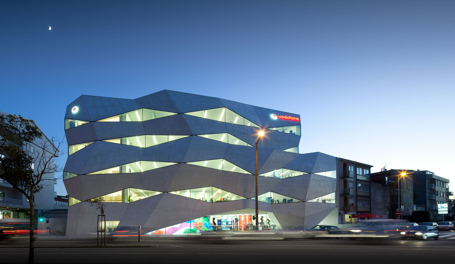 Berühmte Arbeitsplätze: Vodafone Headquarter, Porto