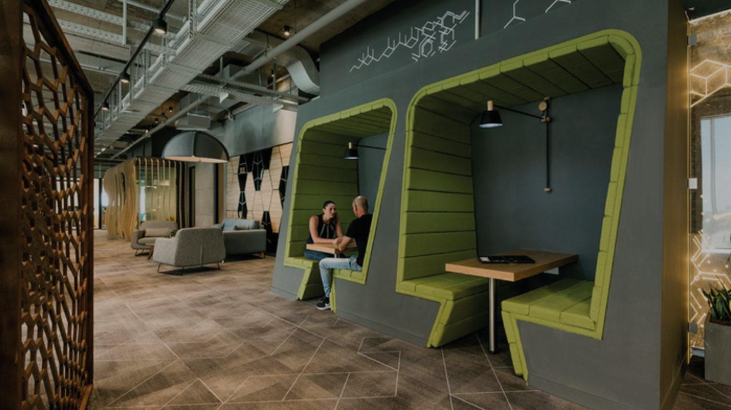 Bürodesign 2018 nach K2