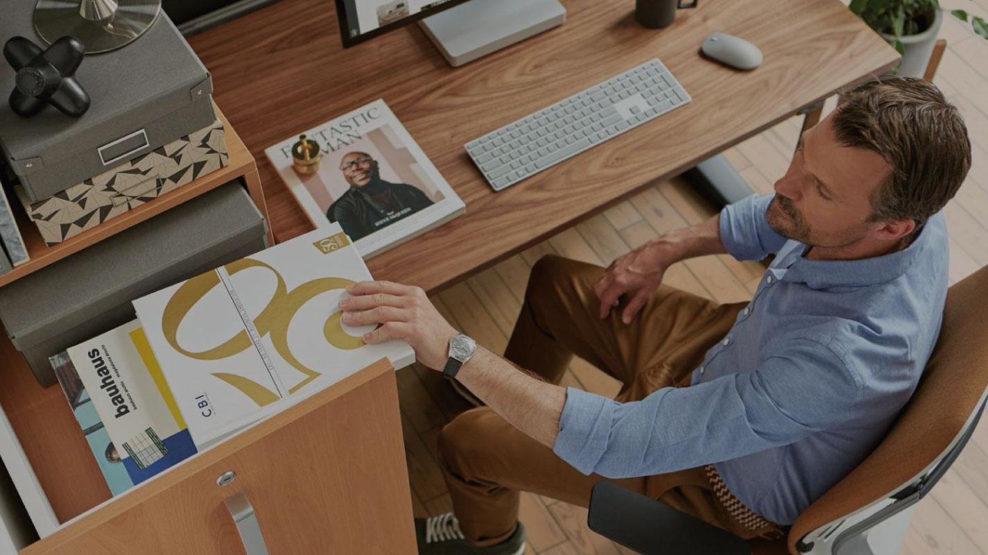 Gut sitzen, viel leisten: Was zeichnet den perfekten Bürostuhl aus?