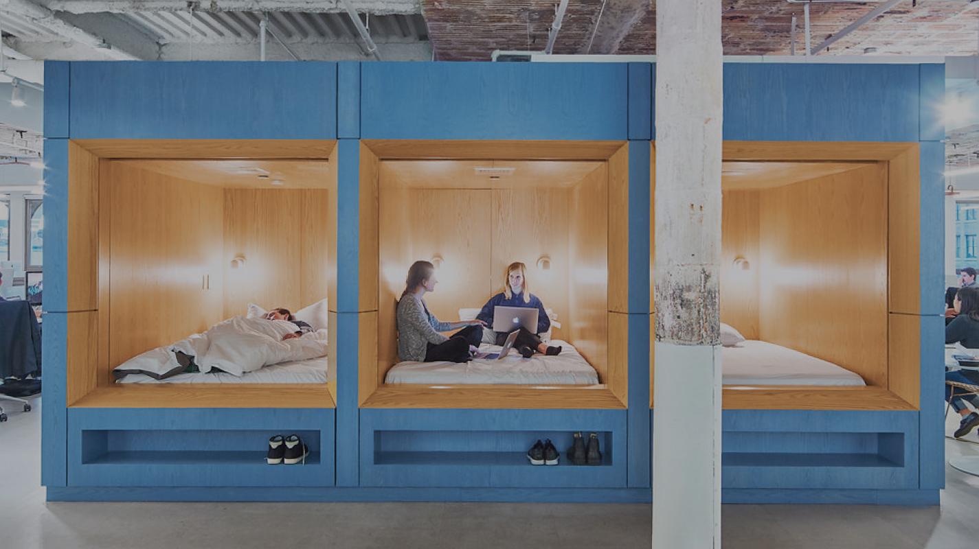 Wohnen oder arbeiten? Der Trend zu hybriden Büros